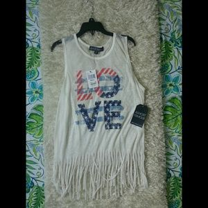 Almost Famous Tank women's size small NWT